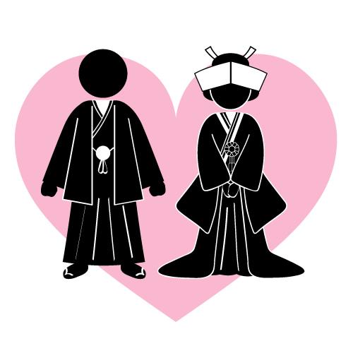 昔の結婚記念写真
